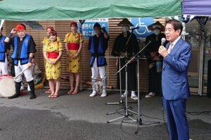 収穫祭・板橋エイサー開催