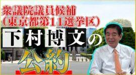 下村博文の公約(衆議院議員候補 東京都第11選挙区)
